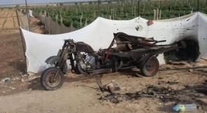 طائرات مسيرة للاحتلال تستهدف دراجة نارية جنوب قطاع غزة