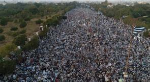 """""""مسيرة مليونية"""" بباكستان رفضا للتطبيع مع الاحتلال"""
