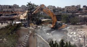 الاحتلال يواصل هدم المنازل في القدس