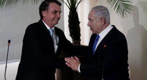 نتنياهو يكشف: سنبيع البرازيل طائرات مسيرة مقابل نقل سفارتها الى القدس