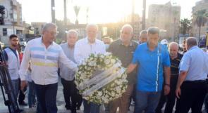 فصائل منظمة التحرير تُكلِّل النّصب التذكاري للشُّهداء في صيدا بالورد بمناسبة عيد الأضحى