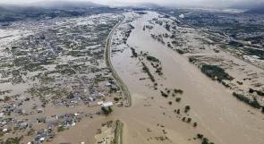 """مصرع 26 شخصا على الأقل إثر الإعصار """"هاغيبيس"""" في اليابان"""