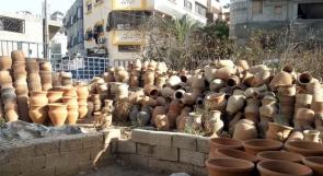 """أهالي حي الدرج في غزة يناشدون عبر وطن لحل أزمة """"الفخار"""""""
