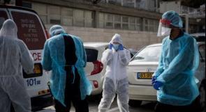 """صحة الاحتلال: حالتا وفاة و1055 إصابة جديدة بـ""""كورونا"""""""