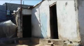 """خاص لـ""""وطن"""": بالفيديو.. خان يونس: عائلة تعاني الأمراض والفقر"""