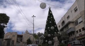بيت جالا تنهي إستعداداتها لاستقبال أعياد الميلاد.. رسالة فرح رغم المعاناة