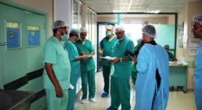 نتيجة أزمة الوقود.. توقف الخدمات في مستشفى بيت حانون