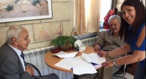 """توقيع اتفاقية شراكة بين منظمة اليونيسكو ومركز """"مدى"""""""