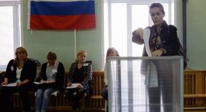 مواقف طريفة خلال سباق الانتخابات الروسية