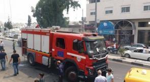 الدفاع المدني يتعامل مع 41 حادث حريق وإنقاذ