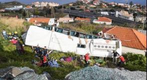 مقتل 29 سائحا المانيا في جزيرة ماديرا البرتغالية
