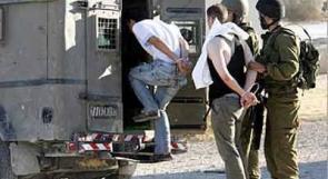 قوات الاحتلال تعتقل مواطنين من حمامات المالح