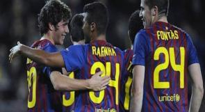 أشبال برشلونة تسحق باتي بوريسوف