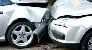 إصابة مواطنين جراء حادث مروري جنوب جنين