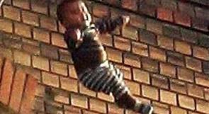 سقوط طفل من الطابق الرابع في قلقيلية