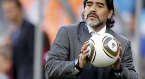 مارادونا: أنا أكبر مشجع ومؤيد للشعب الفلسطيني