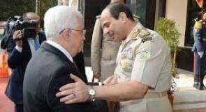 اتصال هاتفي بين الرئيس عباس ونظيره المصري