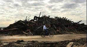 بالصور.. أمريكا ما بعد إعصار ساندي