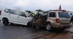 مصرع مواطن واصابة 189 اخرين في 197 حادث سير بالضفة  خلال اسبوع