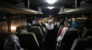 36 أسرة  غزيّة تزور أبناءها في سجون الاحتلال