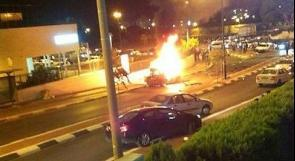 بالصور والفيديو ..إصابة إسرائيلي بجراح خطيرة في انفجار سيارته بعسقلان