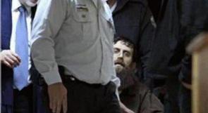 الأسير عدنان يدعو لمساندة الأسيرة الشلبي في إضرابها