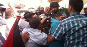 مواجهات مع جنود الاحتلال في قرية الجيب