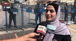 """زوجة الفنان """"عبد الرحمن الظاهر"""" لوطن: نعيش بقلقٍ مستمر خوفا على حياة زوجي، وصحفيون: حرية التعبير في فلسطين سقفها """"السجن"""""""