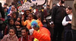 """بدعم أوروبي .. """"كرنفال الشارع"""" محفل ثقافي يجوب شوارع نابلس"""