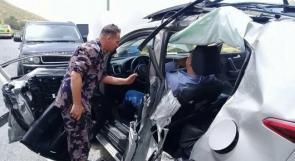 صور.. 5 إصابات بحادث سير شرق بيت لحم