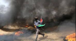 حدود غزة تشتعل في الجمعة الرابعة لمسيرة العودة الكبرى