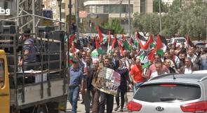 في يوم الأسير .. مسيرات تطالب باعتبار المعتقلين أسرى حرب