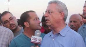 البرغوثي من غزة لوطن: ناقشنا مع المصريين ملف المصالحة وما رأيته على حدود غزة أبهرني