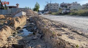 مشروع تأهيل وتعبيد شارع بيت عينون معلق منذ سنوات والمواطنون يناشدون عبر وطن