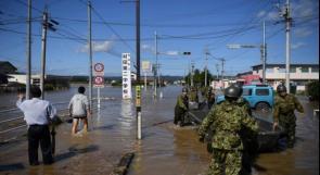 مقتل 11 شخصا على الأقل جراء إعصار هاغيبيس في اليابان