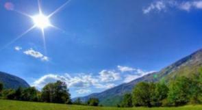 الطقس:الجو غائم جزئي إلى صافٍ ربيعي وارتفاع طفيف على درجات الحرارة