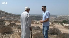 """""""سرقوا عمري"""".. الحاج عطايا تعقيباً على مصادرة أرضه في جبل الريسان"""