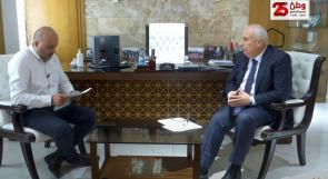 """"""" وطن """" تحاور الرئيس التنفيذي لمجموعة ترست العالمية للتأمين في فلسطين أنور الشنطي"""