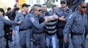 إصابة شاب خلال ملاحقة شرطة الاحتلال له بالداخل