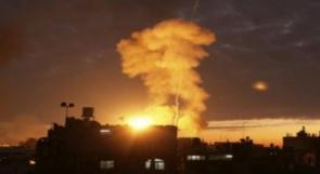الاحتلال يقصف عدة مناطق في ريف القنيطرة جنوب غرب سوريا