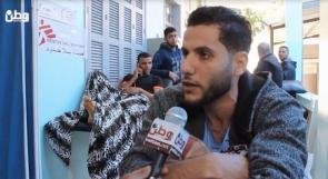 فيديو| جرحى مسيرة العودة بغزة لوطن: أُصبنا برصاص خارق متفجر