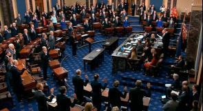 محدّث| مجلس الشيوخ الأمريكي يبرئ ترامب