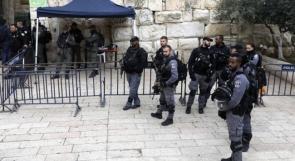 مستوطنون يقتحمون الاقصى واستنفار واسع للاحتلال في محيط البلدة القديمة