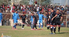 غزة الرياضي يحقق فوزا صعبا على شباب رفح في الدوري الممتاز