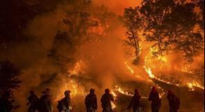 السلطات الامريكية تعلن: الحرائق التهمت 1.6 مليون فدان حتى الان