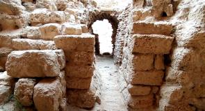 """مصنفة لتكون على قائمة التراث العالمي.. قصة """"هيلاريون"""" أقدم كنيسة في غزة"""
