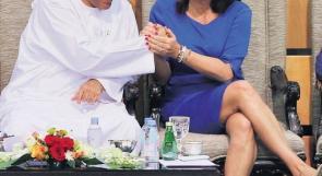 وزيرة الرياضة الاسرائيلية ميري ريغيف تُستقبل بحفاوة كبير في دولة الامارات