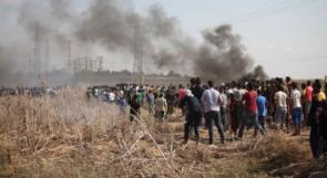10 إصابات برصاص الاحتلال شرق غزة ورفح