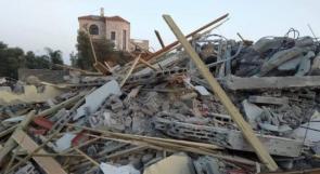 الاحتلال يهدم 4 منازل في اللد بحجة البناء دون ترخيص