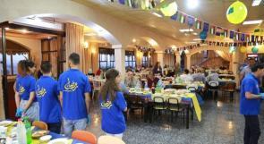 مسنات سبسطية على مائدة إفطار رمضانية للاتحاد الاوروبي